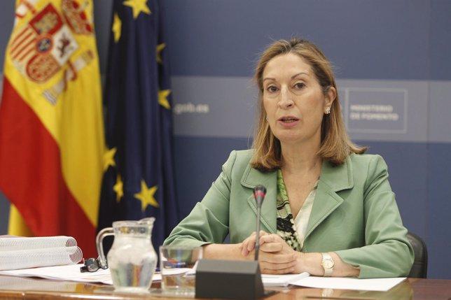 La ministra de Fomento Ana Pastor presenta los Presupuestos de su departamento