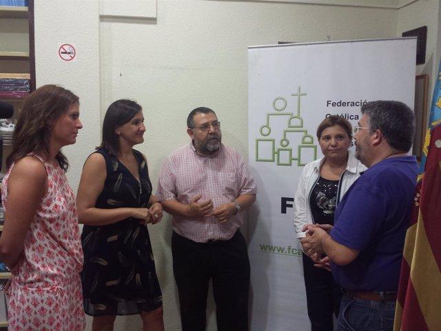 Bonig y Català con FCAPA