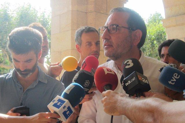 El candidato de UDC a la Presidencia de la Generalitat, Ramon Espadaler