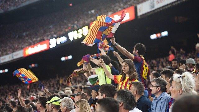 Barcelona San Mamés aficionados