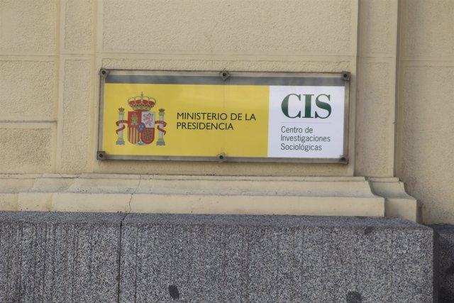 Fachada del Centro de Investigaciones Sociológicas, CIS, opinión, encuesta