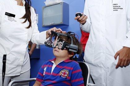 Un nuevo y cómodo sistema permite medir con precisión el estrabismo en niños