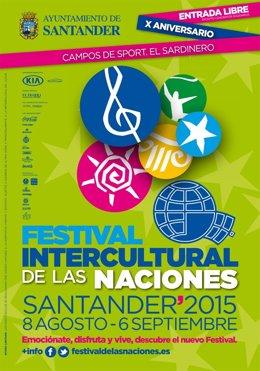 Cartel del Festival Intercultural