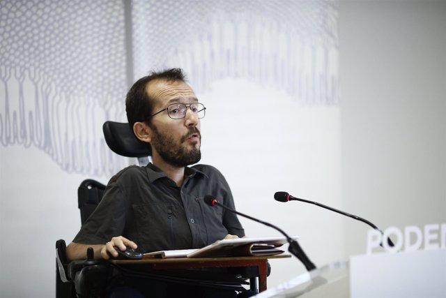 Pablo Echenique, de Podemos