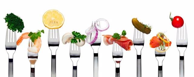 Acelerar el metabolismo, comida, tenerdores