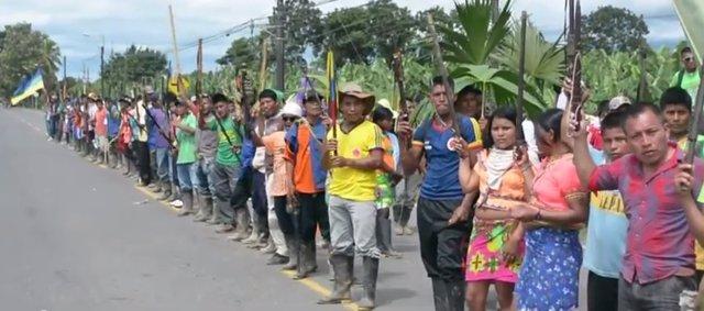 Indígenas en Antioquia