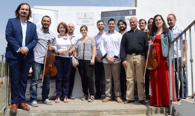 El conjunto de cuerdas Concerto Málaga tiene una plaza en Nigüelas (Granada)