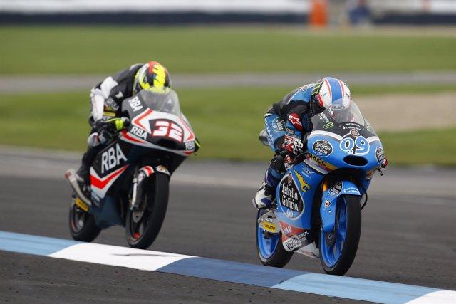 El Piloto Español De Moto3 Jorge Navarro