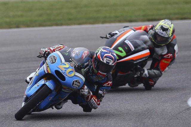 El piloto francés de Moto3 Fabio Quartararo