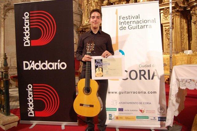 Concurso festival Internacional de Guitarra 'Ciudad de Coria'