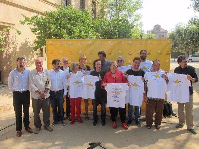 Escritores, actores y cantantes apoyan la movilización de la ANC de la Diada