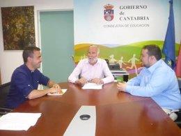 Reunión de C's con Ramón Ruiz