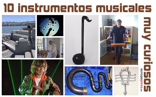 Diez instrumentos musicales muy curiosos