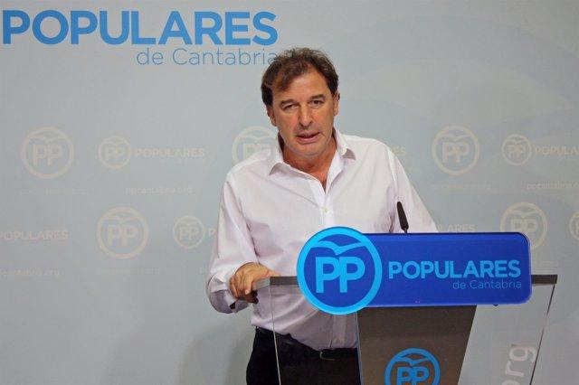 Francisco Rodríguez, exconsejero de Obras y diputado del PP