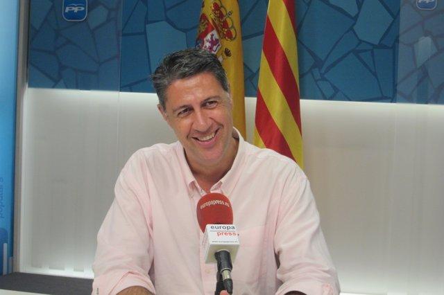 El candidato del PP a la Presidencia de la Generalitat, Xavier García Albiol