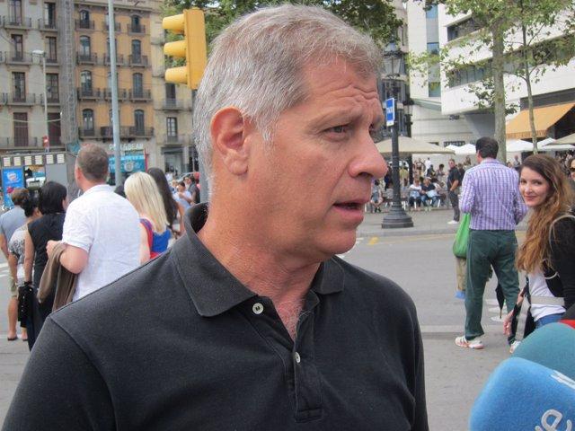 Alberto Fernández, líder PP Barcelona