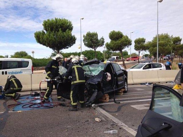 Imagen del accidente mortal