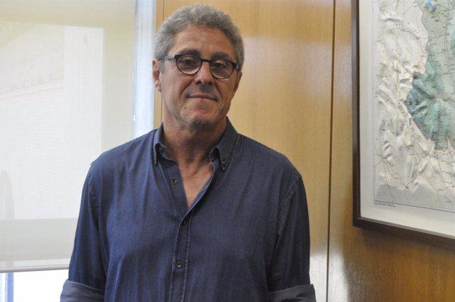 Gregorio Briz (CHA) en las Cortes