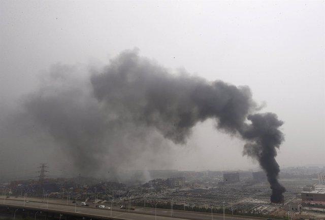 Explosiones de Tianjin, China