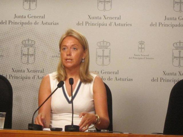 Cristina Coto, portavoz de Foro Asturias en la Junta General