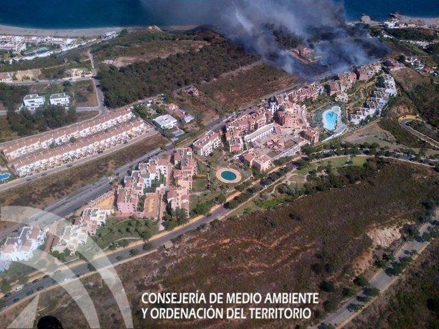 Punta chullera manilva incendio infoca
