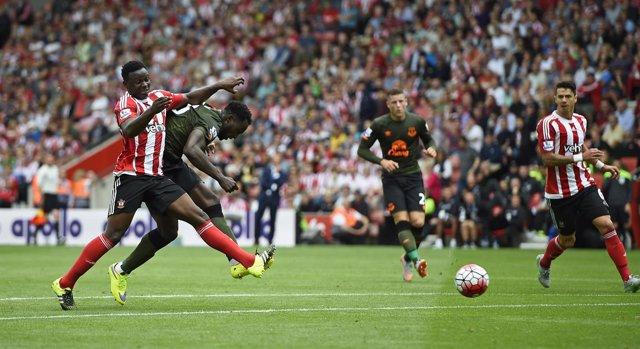 Romelu Lukaku gol Southampton Everton Premier