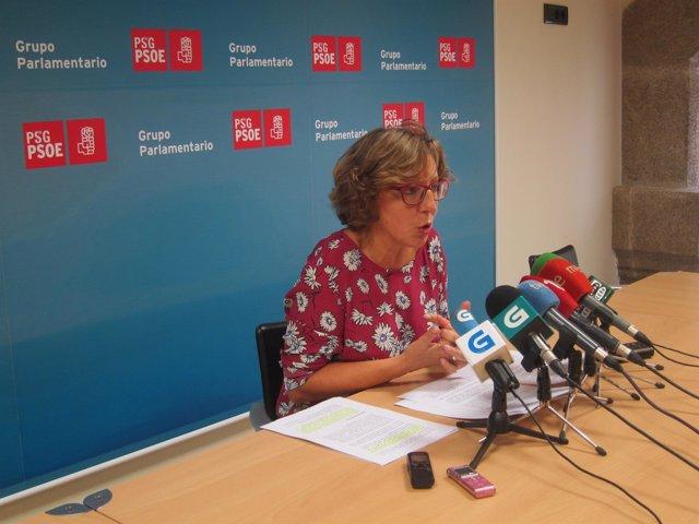 Carmen Gallego, portavoz del PSdeG de políticia social