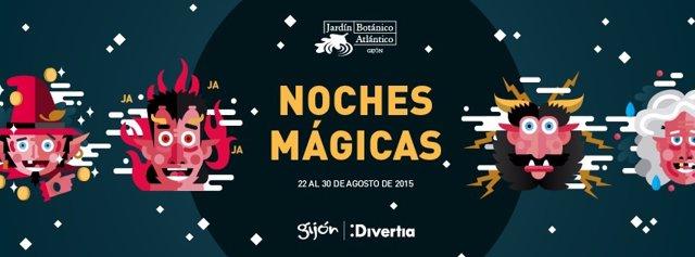 Noches Mágicas en el Jardín Botánico de Gijón