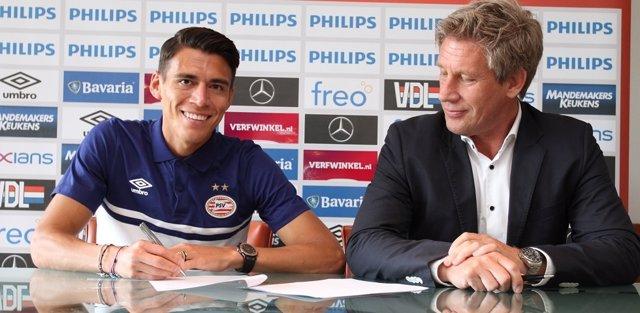 Héctor Moreno se marcha al PSV