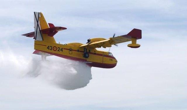 Avión contra incendios