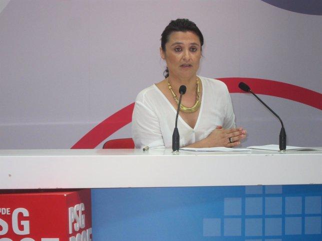 La diputada del PSOE en el Congreso por Ourense, Laura Seara