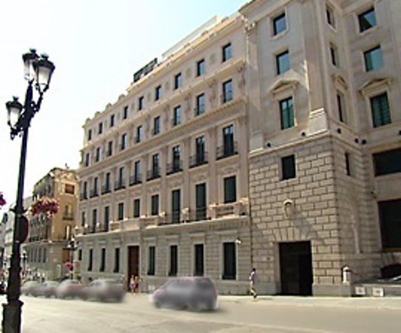 Desalojados dos edificios del congreso por una aver a for Numero del banco exterior