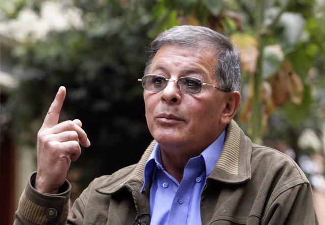 El guerrillero de las FARC Rodrigo Granda (2007).