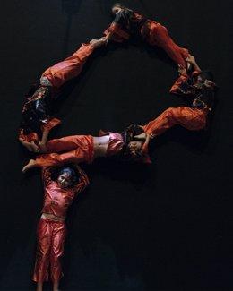 Escena del video promocional de la carrera 'Les Ganchiriki'