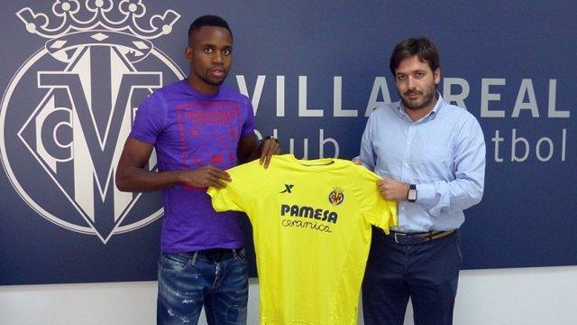 Cédric Bakambu, presentado en el Villarreal