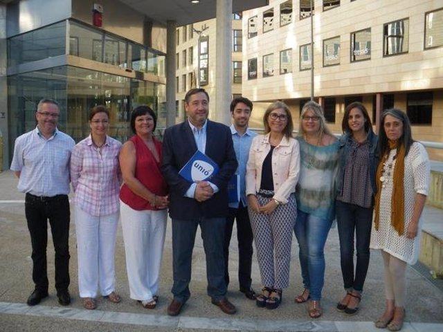Candidatura de Unió por Lleida el 27S encabezada por Josep Maria Pelegrí