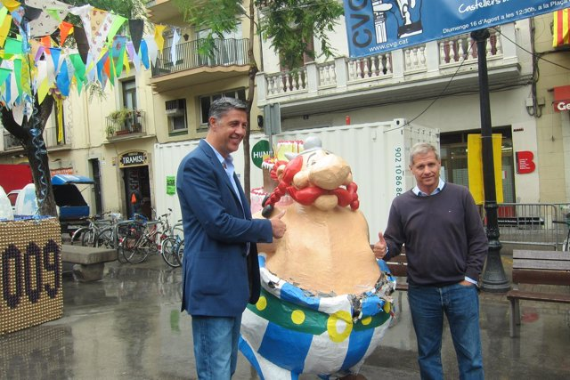 El candidato del PP a la Presidencia de la Generalitat, Xavier Garcia Albiol