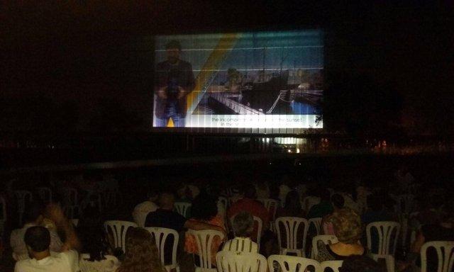 Cine de verano en La Rábida.