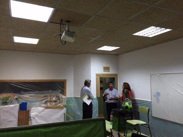 Colegio de Boadilla del Monte en obras