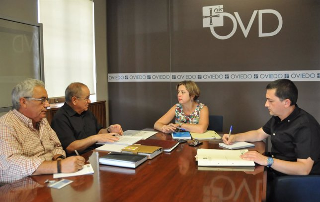 Ana Taboada se reúne con representantes de la FAVO en Oviedo