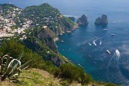 Puerto de Capri, en Italia