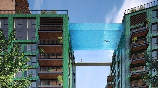 Sky Pool en Londres
