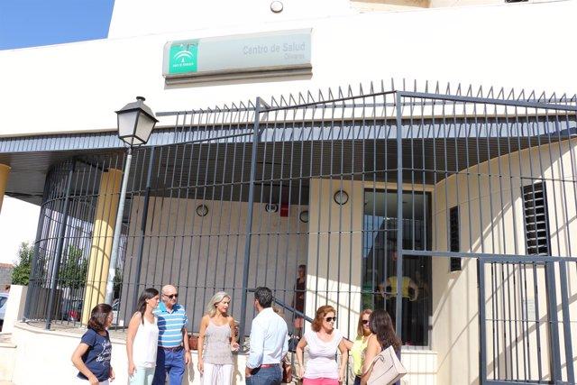 Rueda de prensa de los populares en Olivares.