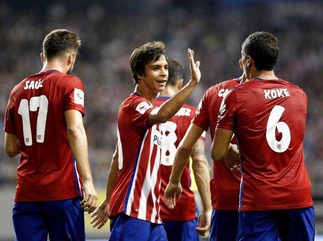 Oliver Torres Koke Atlético