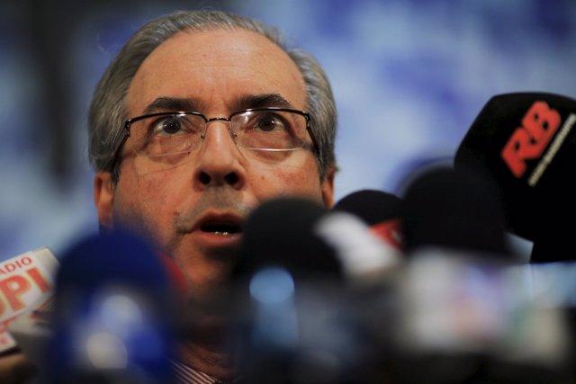 Eduardo Cunha, presidente Cámara de Diputados de Brasil