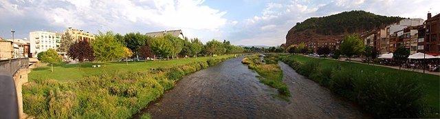 Panorámica del río Najerilla