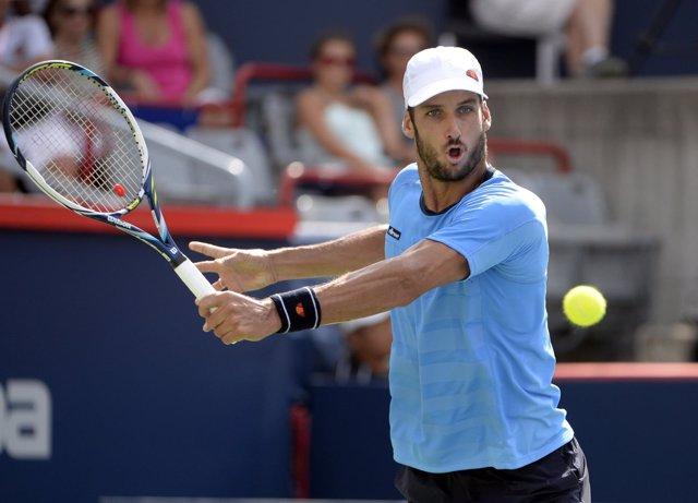 Feliciano López, jugador español de tenis