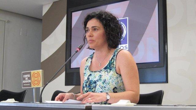 Erika Sanz, de Podemos-Aragón.