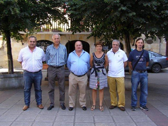 Directiva del Grupo de Acción Local de los Valles Pasiegos