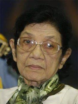 Ieng Thirith, cuñada de Pol Pot